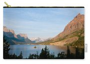 Saint Mary Lake And Wild Goose Island Carry-all Pouch
