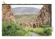 Salt River Above Roosevelt Lake Carry-all Pouch