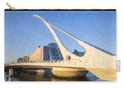 Samuel Beckett Bridge Dublin Carry-all Pouch