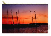 San Diego Harbor Sunset Carry-all Pouch