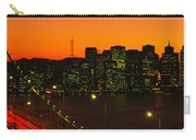 San Franscisco Ca Carry-all Pouch