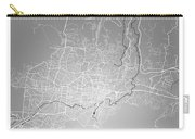 San Salvador Street Map - San Salvador El Salvador Road Map Art  Carry-all Pouch