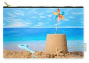 Sandcastle On Beach Carry-all Pouch