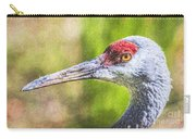 Sandhill Crane Grus Canadensis Carry-all Pouch