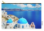 Santorini Island, Greece, Beautiful Carry-all Pouch
