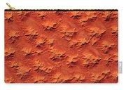 Satellite View Of Murzuk Desert, Libya Carry-all Pouch