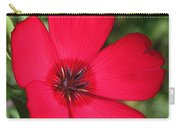 Scarlet Flax Carry-all Pouch
