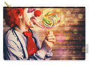 Scary Circus Clown At Horror Birthday Party Carry-all Pouch