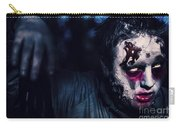 Scary Zombie Looking Gravely Ill. Monster Disease Carry-all Pouch