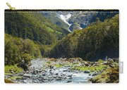 Scenic Valley In New Zealand Carry-all Pouch