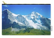 Scenic View Of Eiger And Monch Mountain Carry-all Pouch