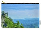Scenic View Of Mountain Range Carry-all Pouch