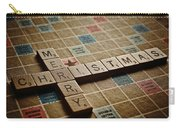 Scrabble Merry Christmas Carry-all Pouch