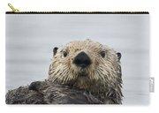 Sea Otter Alaska Carry-all Pouch