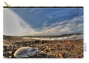 Sea Shell Sea Shell By The Sea Shore At Presque Isle State Park Series Carry-all Pouch