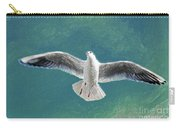 10427 Seagull In Flight Carry-all Pouch