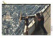 Seaman Fires A .50-caliber Machine Gun Carry-all Pouch