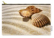 Seashell And Conch Carry-all Pouch by Carlos Caetano