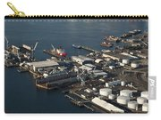 Seattle Skyline And South Industrial Area Carry-all Pouch