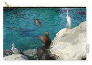 Seaworld Sea Lions Carry-all Pouch