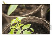Seedlings  Carry-all Pouch by Elena Elisseeva