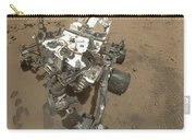 Self-portrait Of Curiosity Rover Carry-all Pouch by Stocktrek Images