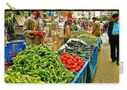 Selling Fresh Vegetables In Antalya Market-turkey Carry-all Pouch