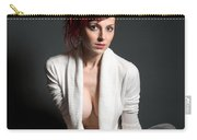 Semi-nude Portrait Carry-all Pouch