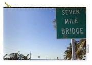 Seven Mile Bridge Florida Keys Carry-all Pouch