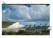 Seven Sisters Cliffs And Coastguard Cottages Carry-all Pouch