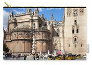 Seville Cathedral In The Old Town Carry-all Pouch