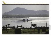 Shalimar Garden The Dal Lake And Mountains Carry-all Pouch