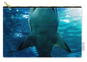 Shark Silhouette Underwater Carry-all Pouch