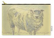 Sheep Sketch Carry-all Pouch