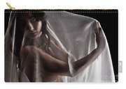 Sheer Nude Carry-all Pouch