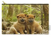 Shiba Inu Puppies Carry-all Pouch