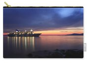 Ship At Mykonos Bay Mykonos Cyclades Greece  Carry-all Pouch