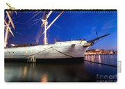 Ship At Night In Stockholm Carry-all Pouch