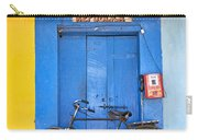 Shop On Street In Goa India Carry-all Pouch