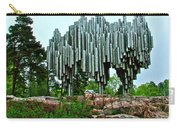 Sibelius Memorial Park In Helsinki-finland Carry-all Pouch