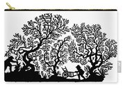 Silhouette 19th Century Carry-all Pouch