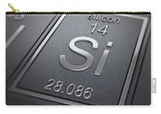 Silicon Chemical Element Carry-all Pouch