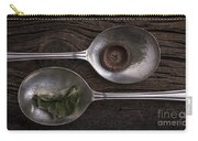 Silver Spoons Carry-all Pouch by Edward Fielding