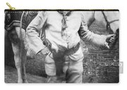 Sir Genille Cave Brown Cave (1869-1929) Carry-all Pouch