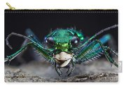 Six-spotted Green Tiger Beetle Carry-all Pouch
