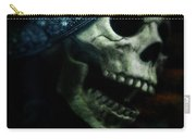 Skull In Crown Carry-all Pouch