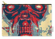 Skull In Hope Carry-all Pouch