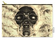 Skull In Sepia Carry-all Pouch