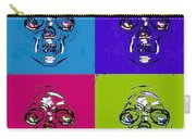Skulls In Quad Colors Carry-all Pouch