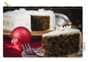 Slice Of Christmas Cake Carry-all Pouch